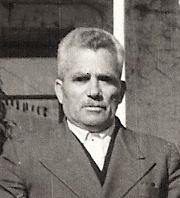Λεωνίδας Γκέκας 1894-1965. Γραμματέας Κοινότητασ 1934-1962.