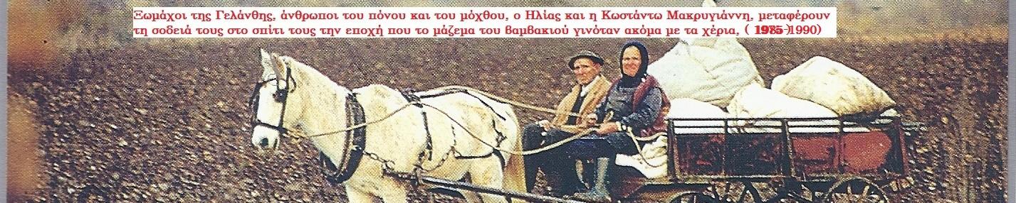 ΙΣΤΟΡΙΑ  ΓΕΛΑΝΘΗΣ ΚΑΡΔΙΤΣΑΣ
